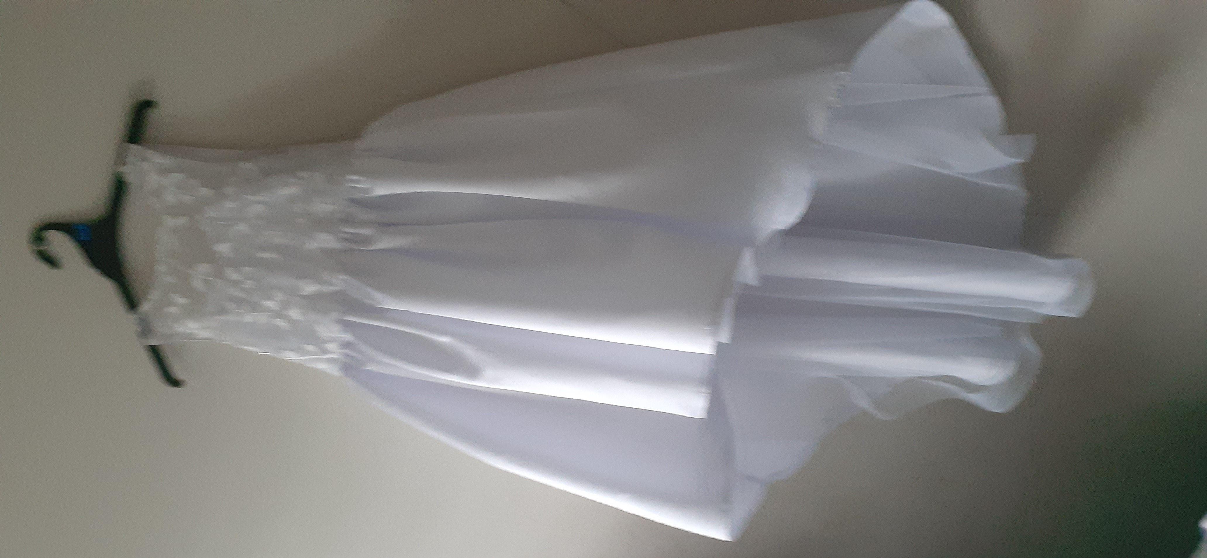 プリンセスライン 非対称 フラワーガールのドレス - サテン 袖なし スクープネック とともに 弓
