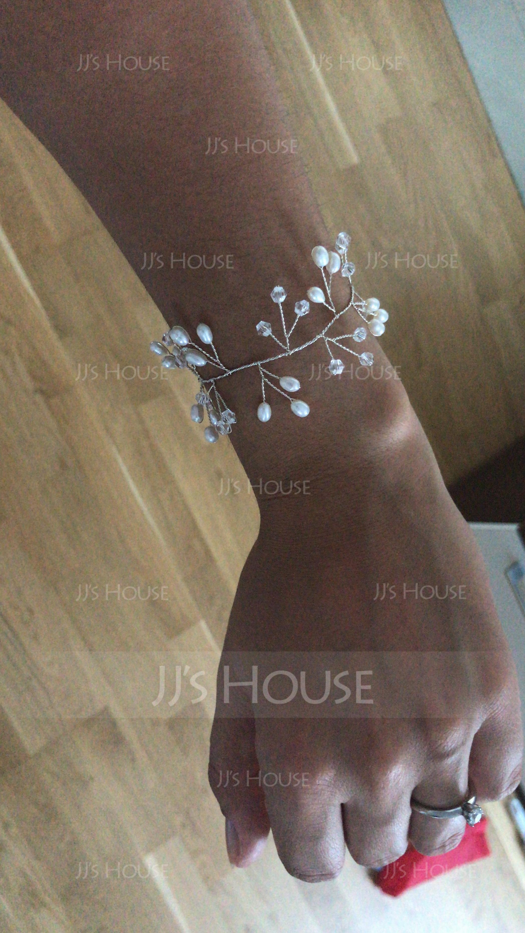 Romantic Alloy/Imitation Pearls With Imitation Pearls Ladies' Bracelets (011110831)