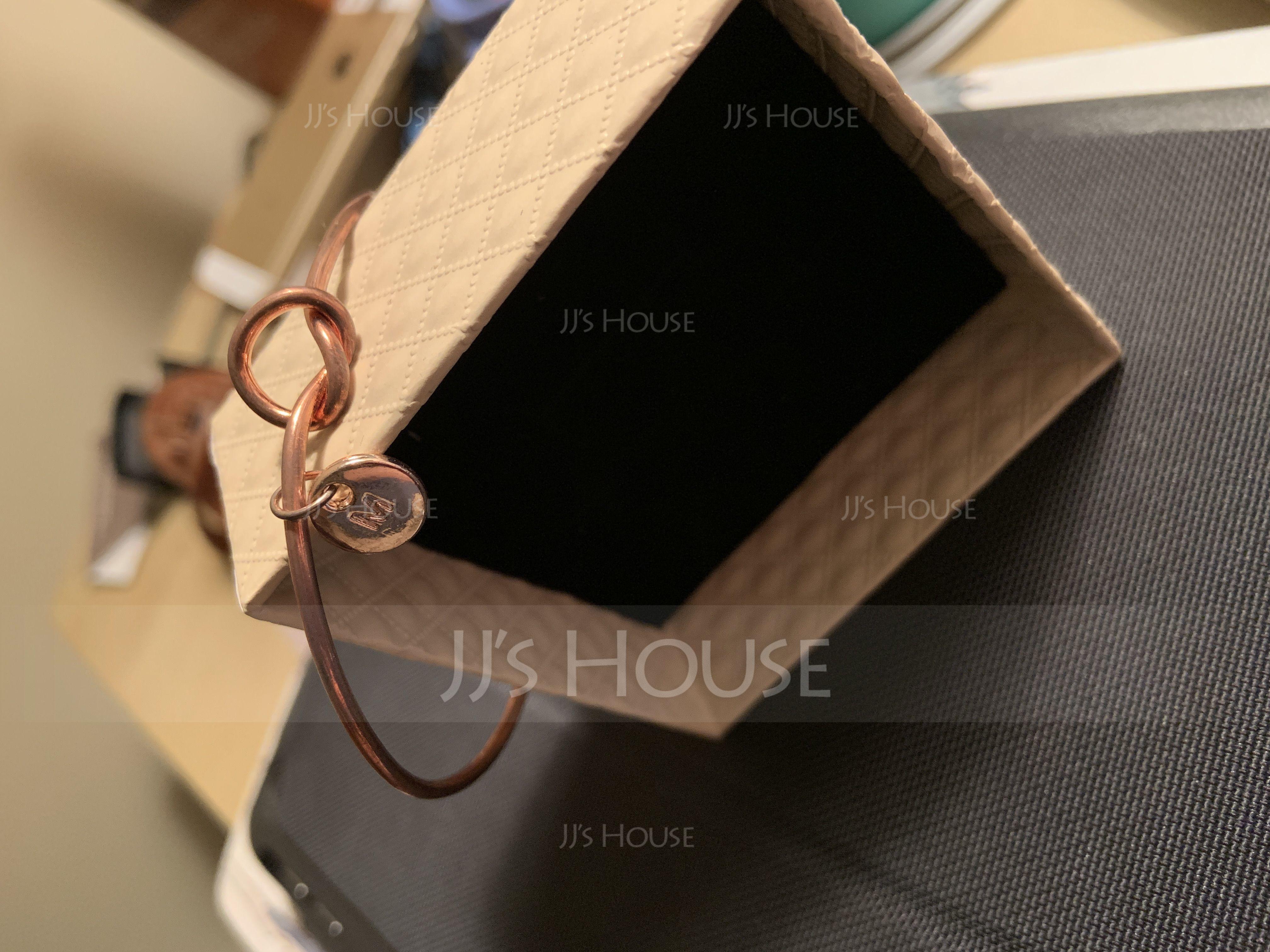 Elegant Alloy Initial Bracelets Bracelets For Bride/For Bridesmaid (011205828)