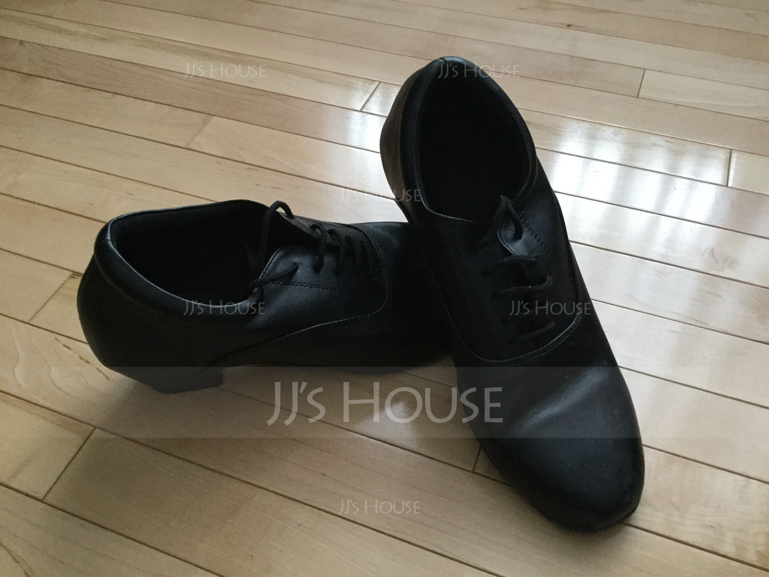 Men's Real Leather Ballroom Dance Shoes (053013006)