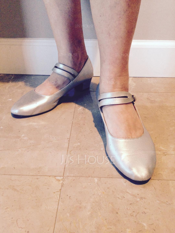 Women's Leatherette Heels Ballroom Character Shoes Dance Shoes (053118231)