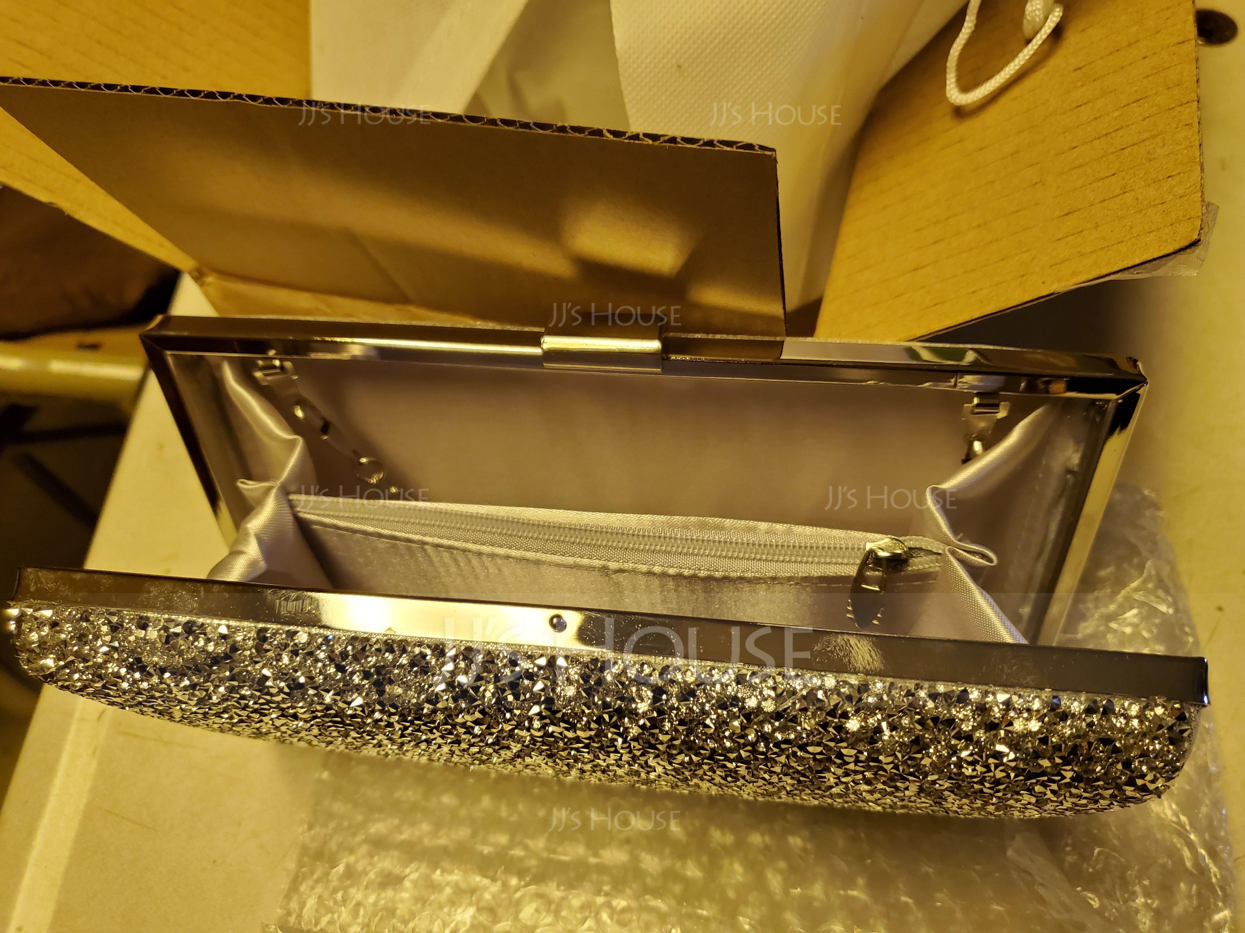 Shining Crystal/ Rhinestone/Sparkling Glitter Clutches (012103352)