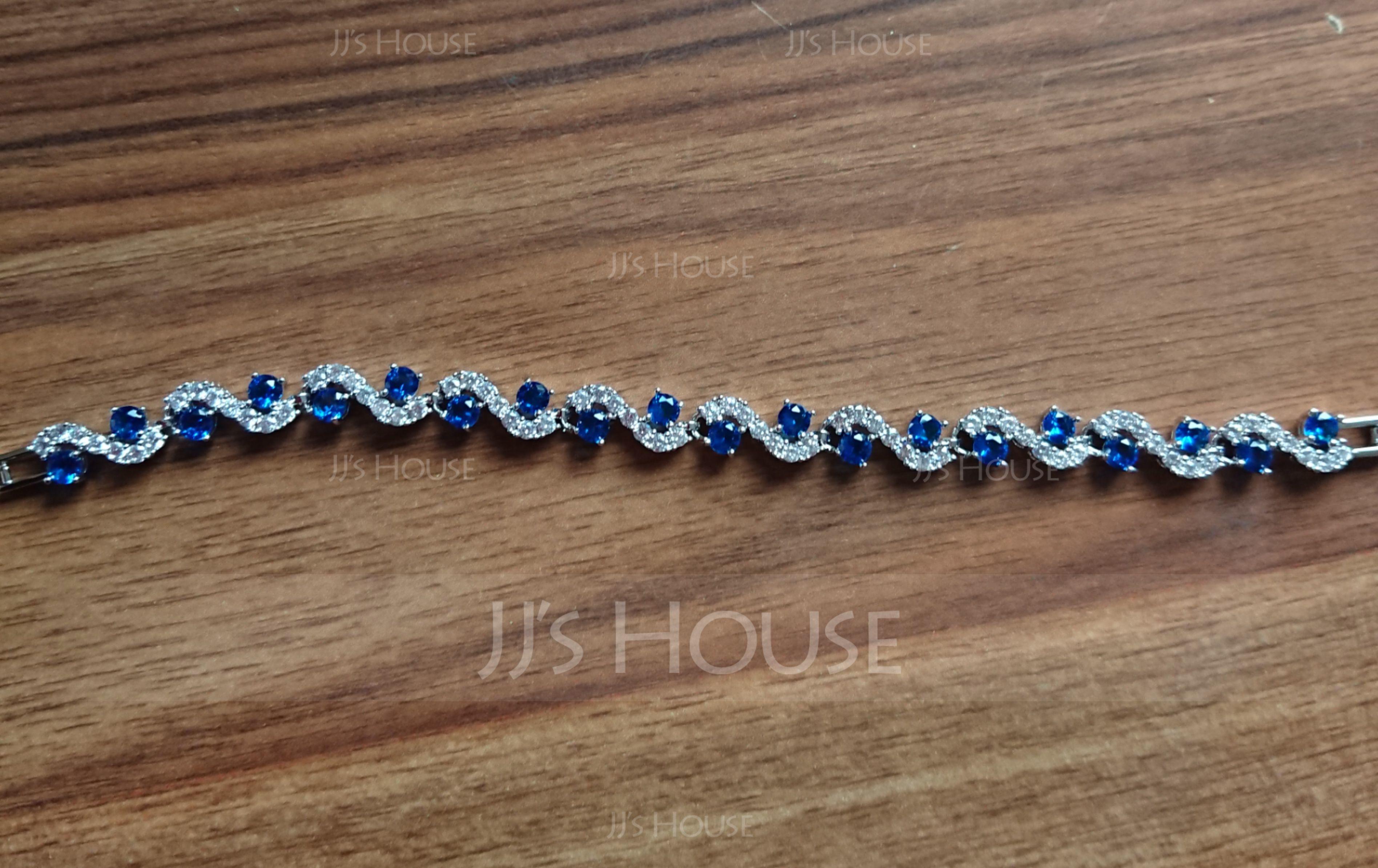Exquis Alliage/Zircon de Dames Bracelets (011195507)