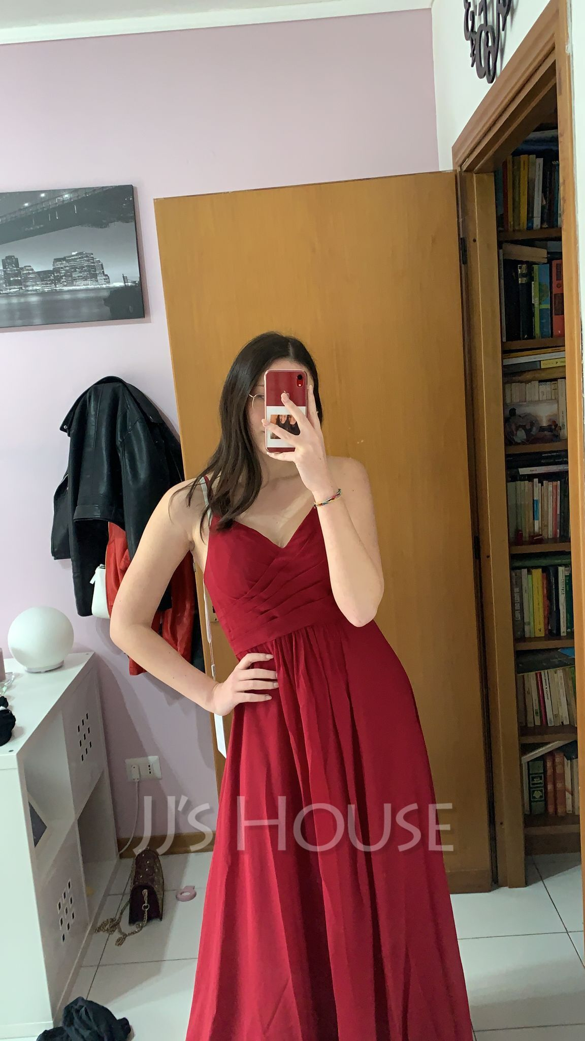 V-Neck Sleeveless Maxi Dresses (293250367)