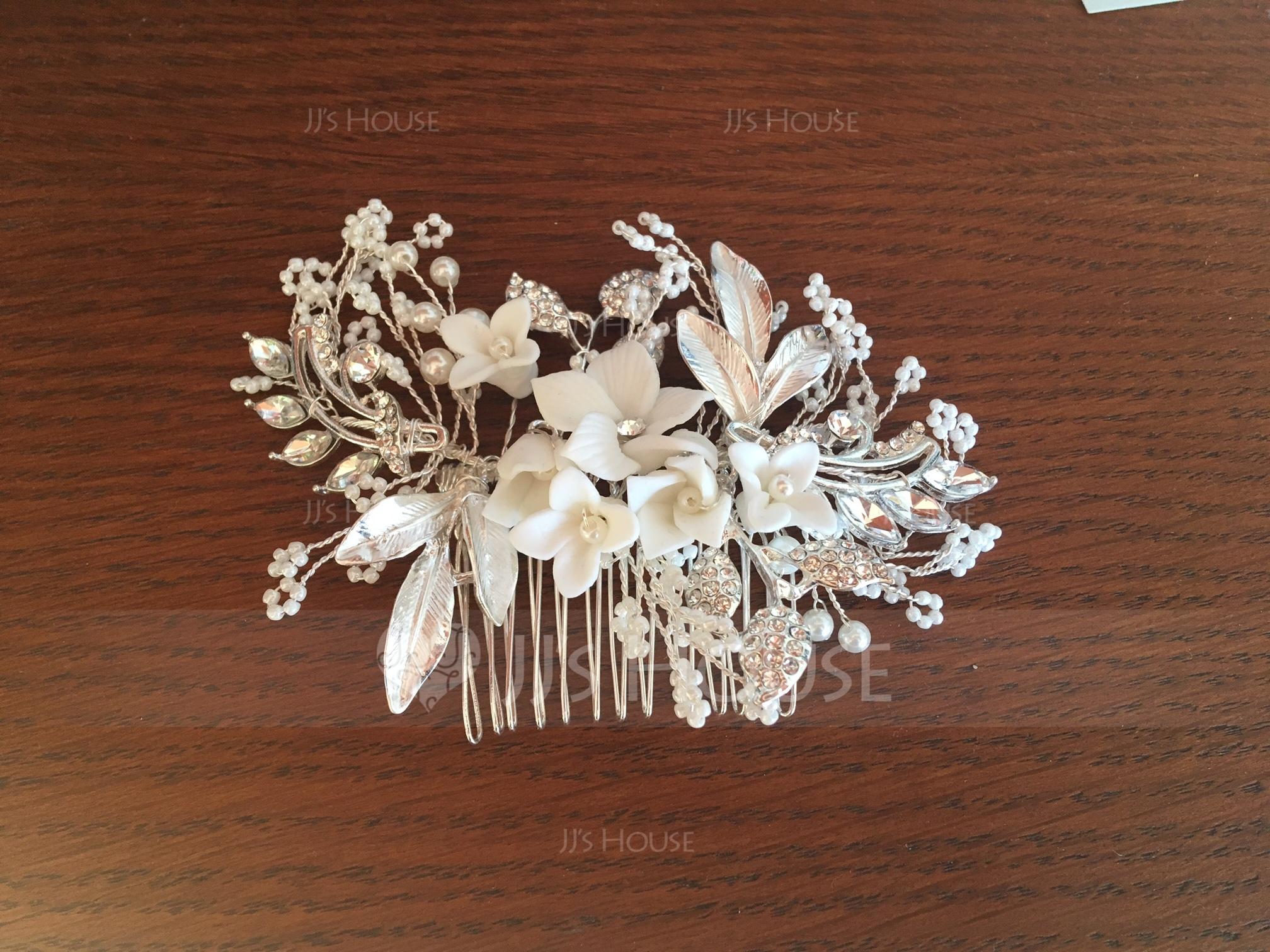 Filles Gentil Alliage/De faux pearl Des peignes et barrettes avec Perle Vénitienne (Vendu dans une seule pièce) (042165448)