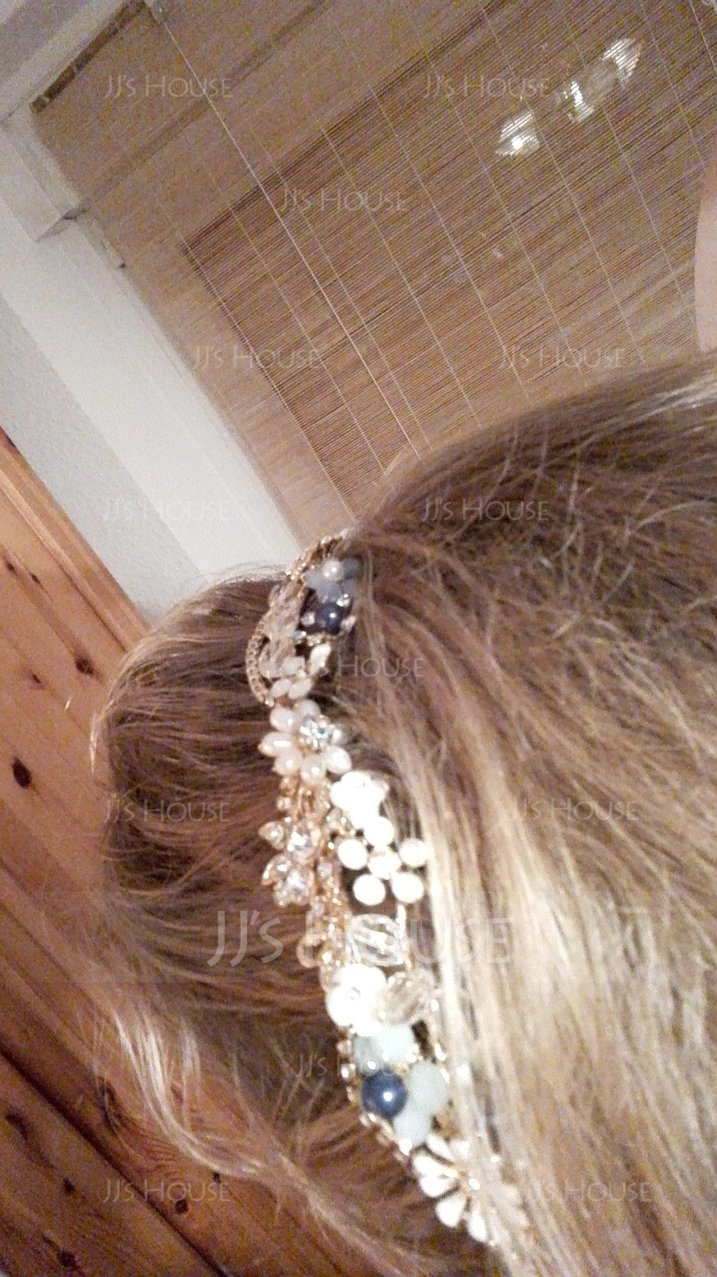 Filles Magnifique Alliage Bandeaux avec Perle Vénitienne (Vendu dans une seule pièce) (042165752)