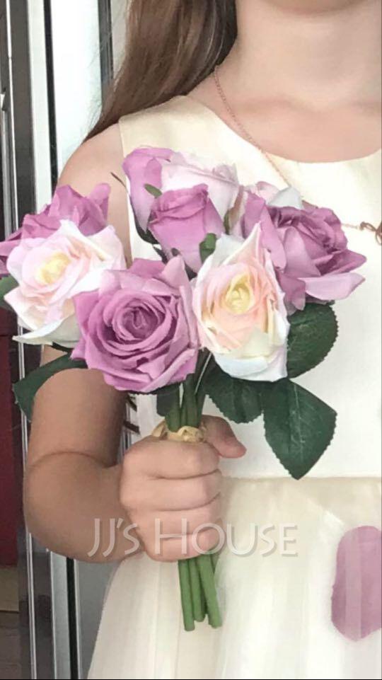 Classic Fabric Bridesmaid Bouquets/Decorations -
