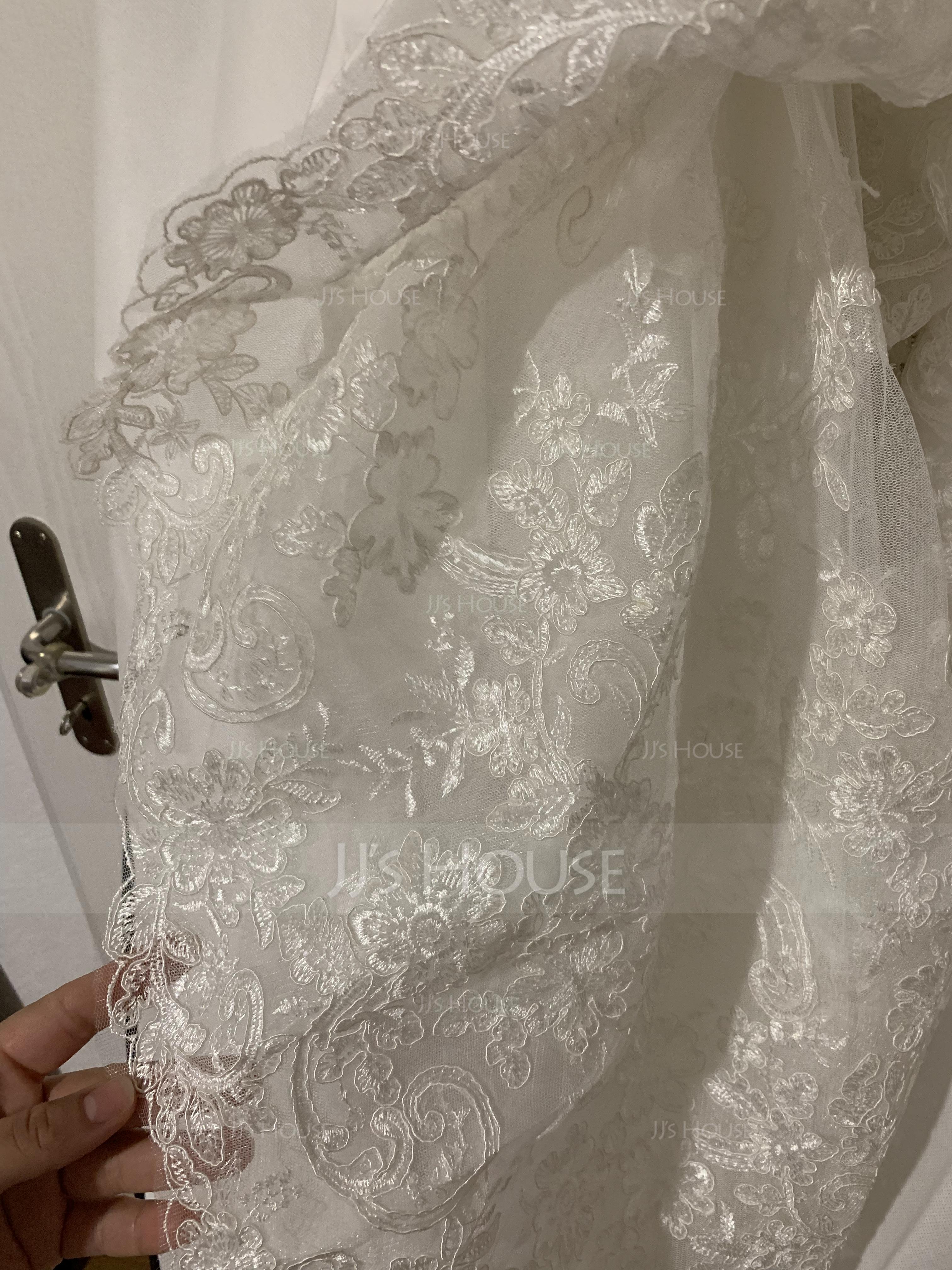 Ballkjole/Prinsesse kjæreste Bane-tog Tyll Brudekjole med Profilering paljetter (002186365)