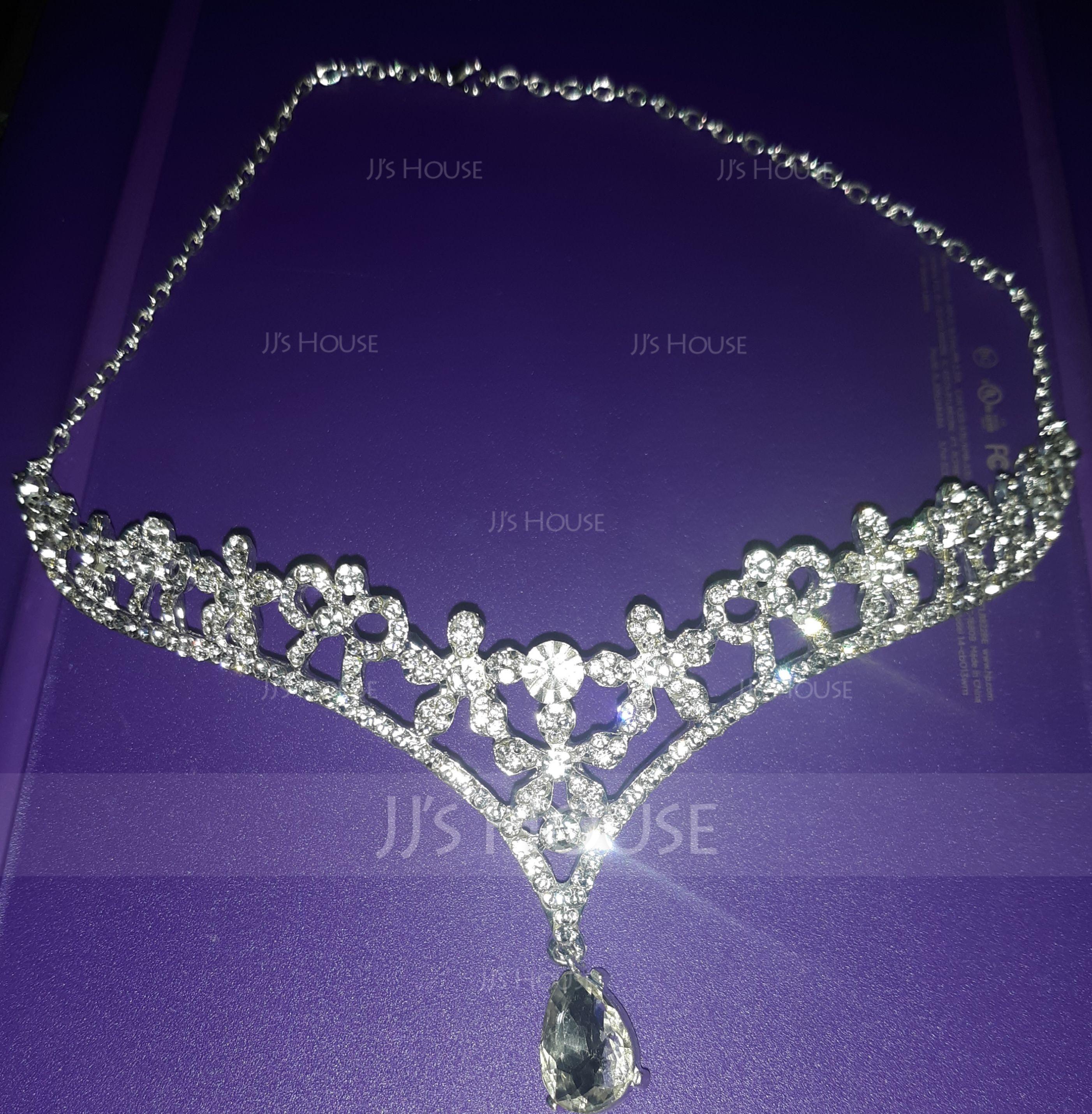 Ladies Gorgeous Rhinestone/Alloy Forehead Jewelry With Rhinestone (042119214)