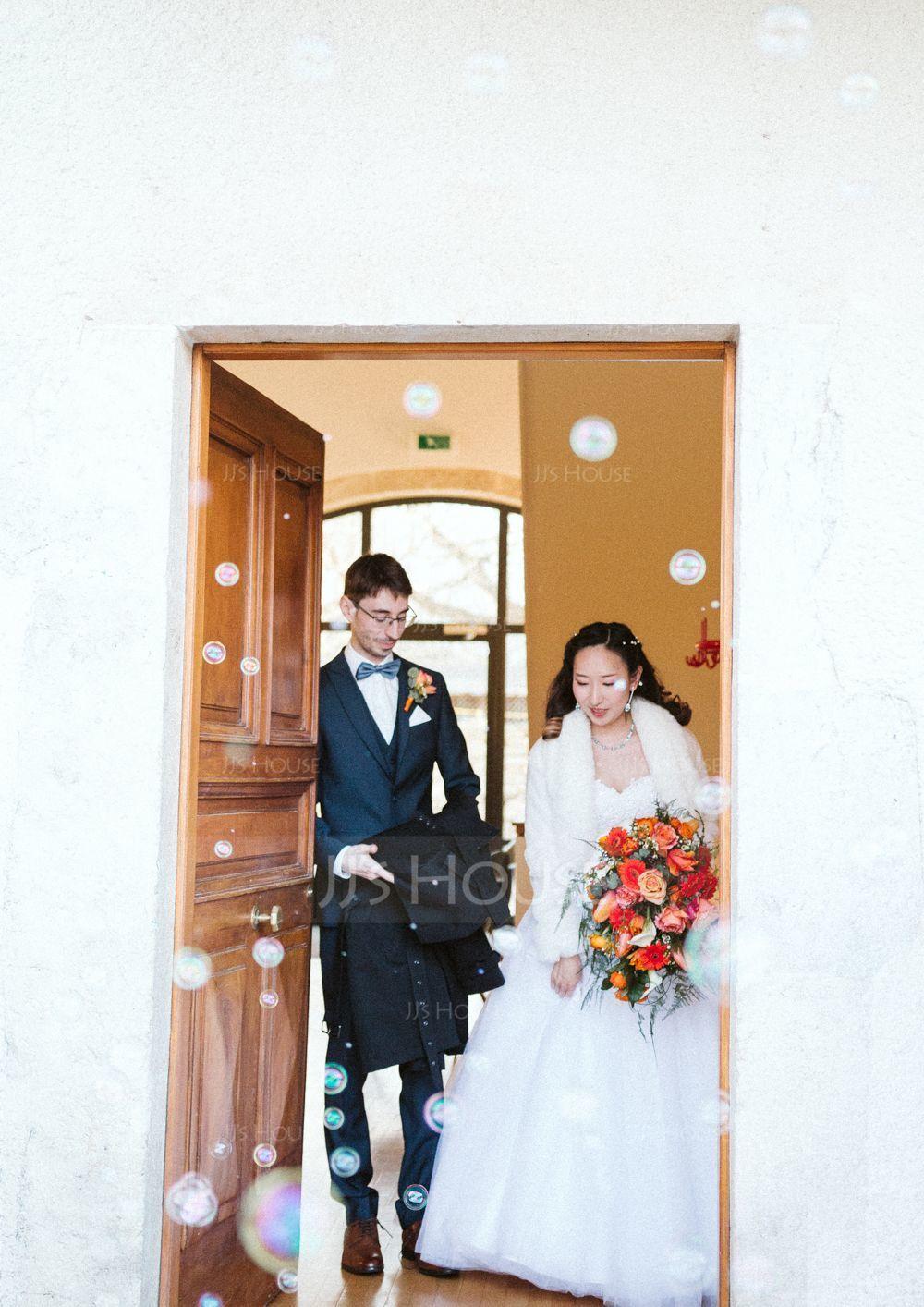 Faux Fur Wedding Wrap (013185718)