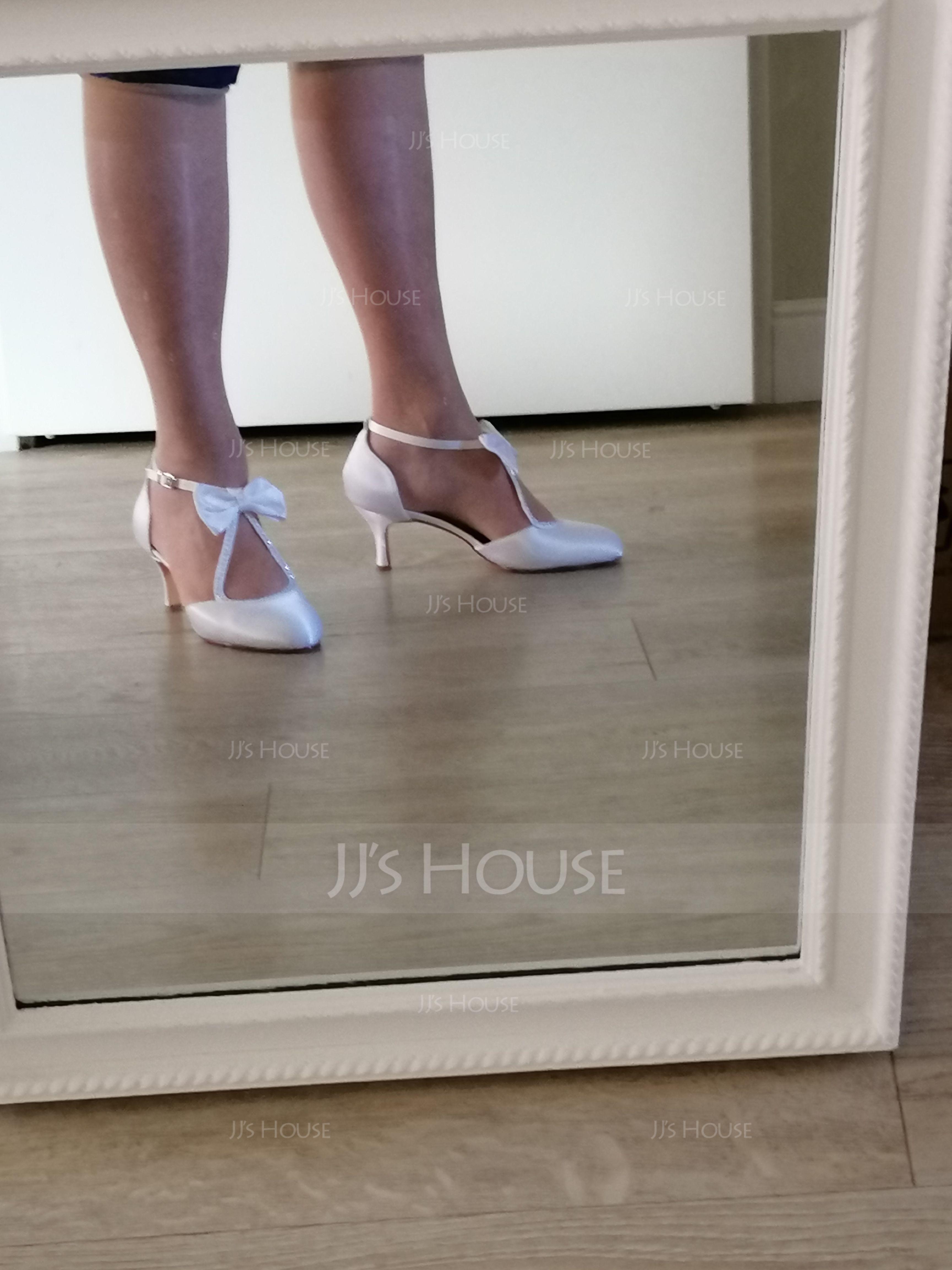 Vrouwen zijde als satijn Stiletto Heel Pumps met Kristal (047114315)
