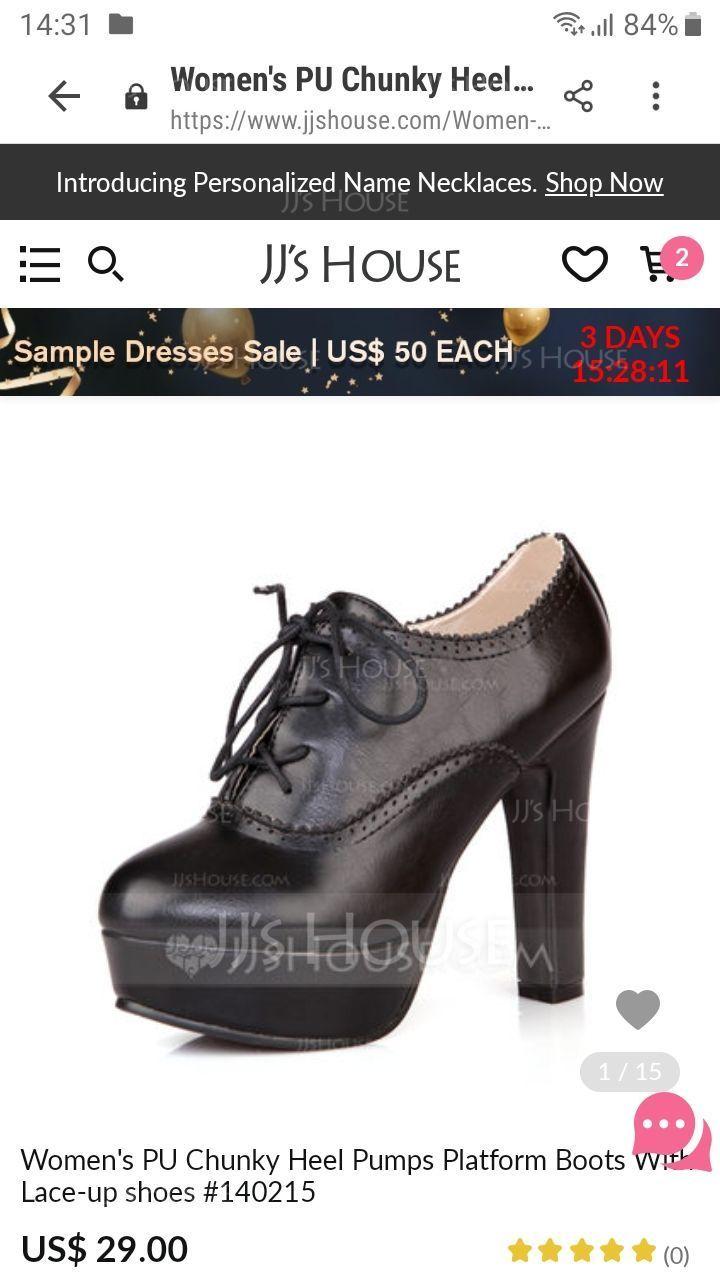 Femmes PU Talon bottier Escarpins Plateforme Bottes avec Dentelle chaussures (088140215)