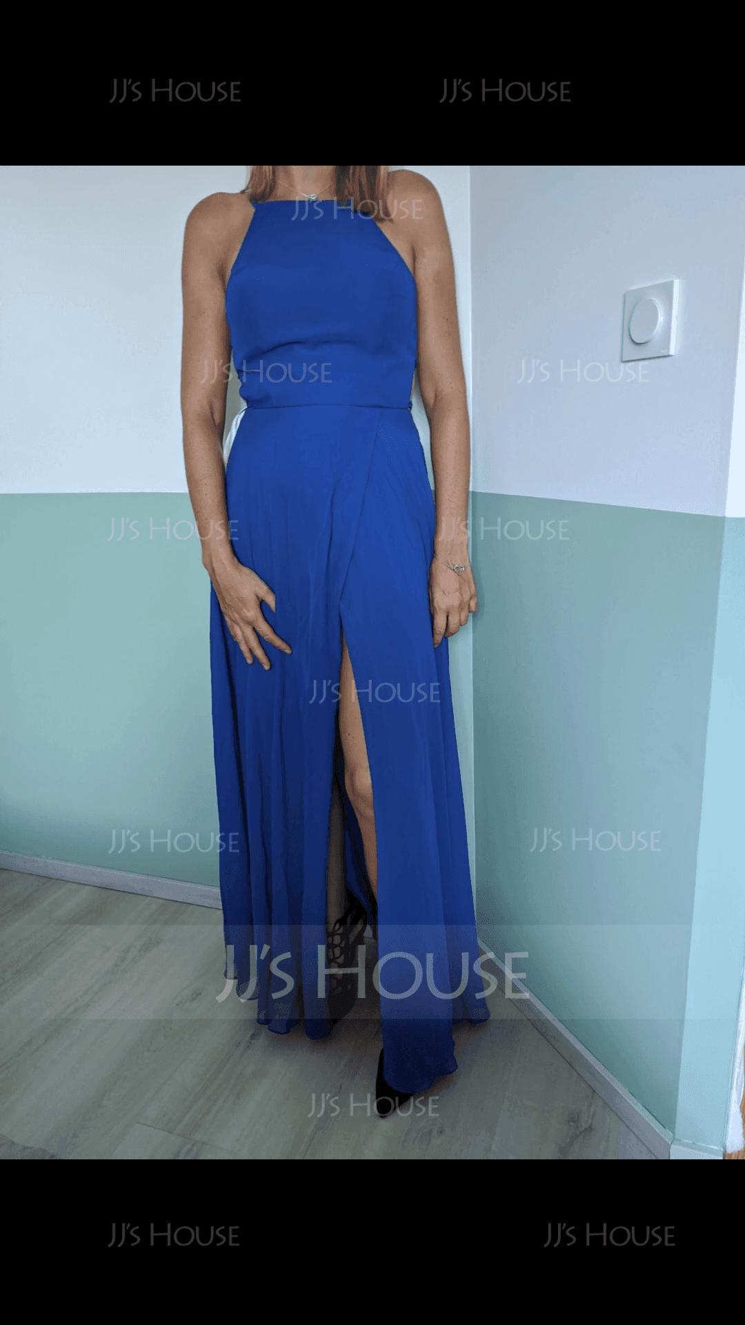 Round Neck Sleeveless Maxi Dresses (293250417)