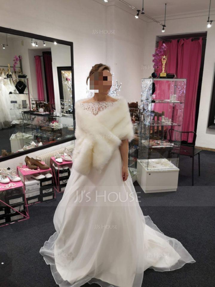 Faux Fur Fashion Wrap