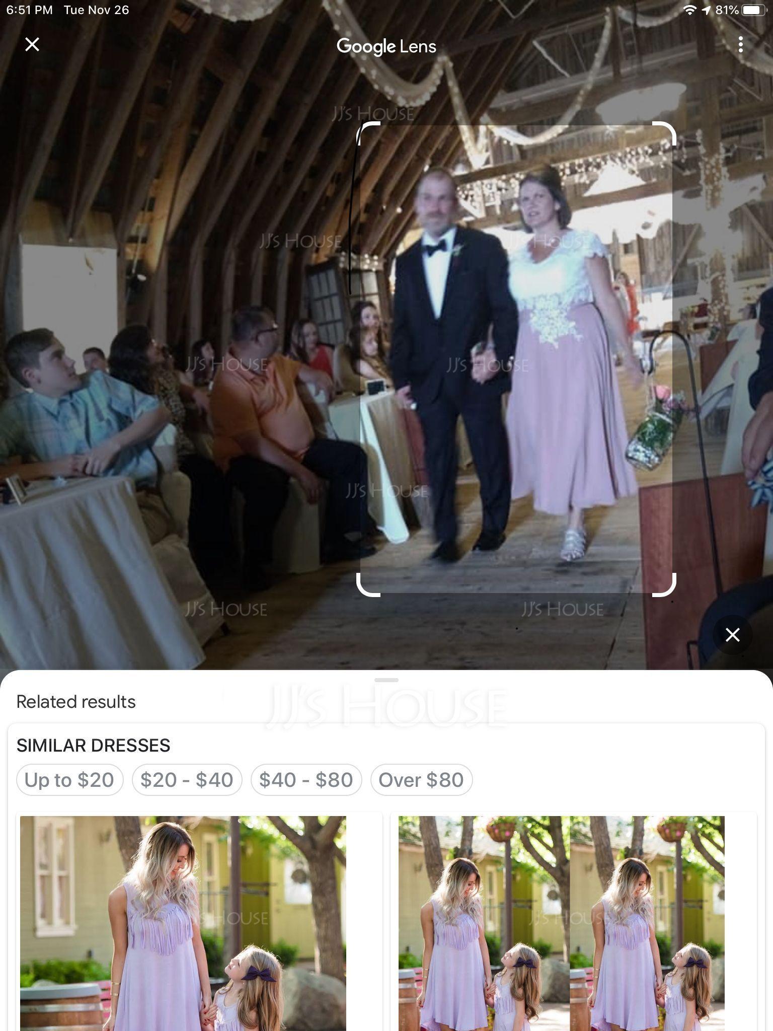 A-Line V-neck Tea-Length Chiffon Lace Mother of the Bride Dress (008143390)