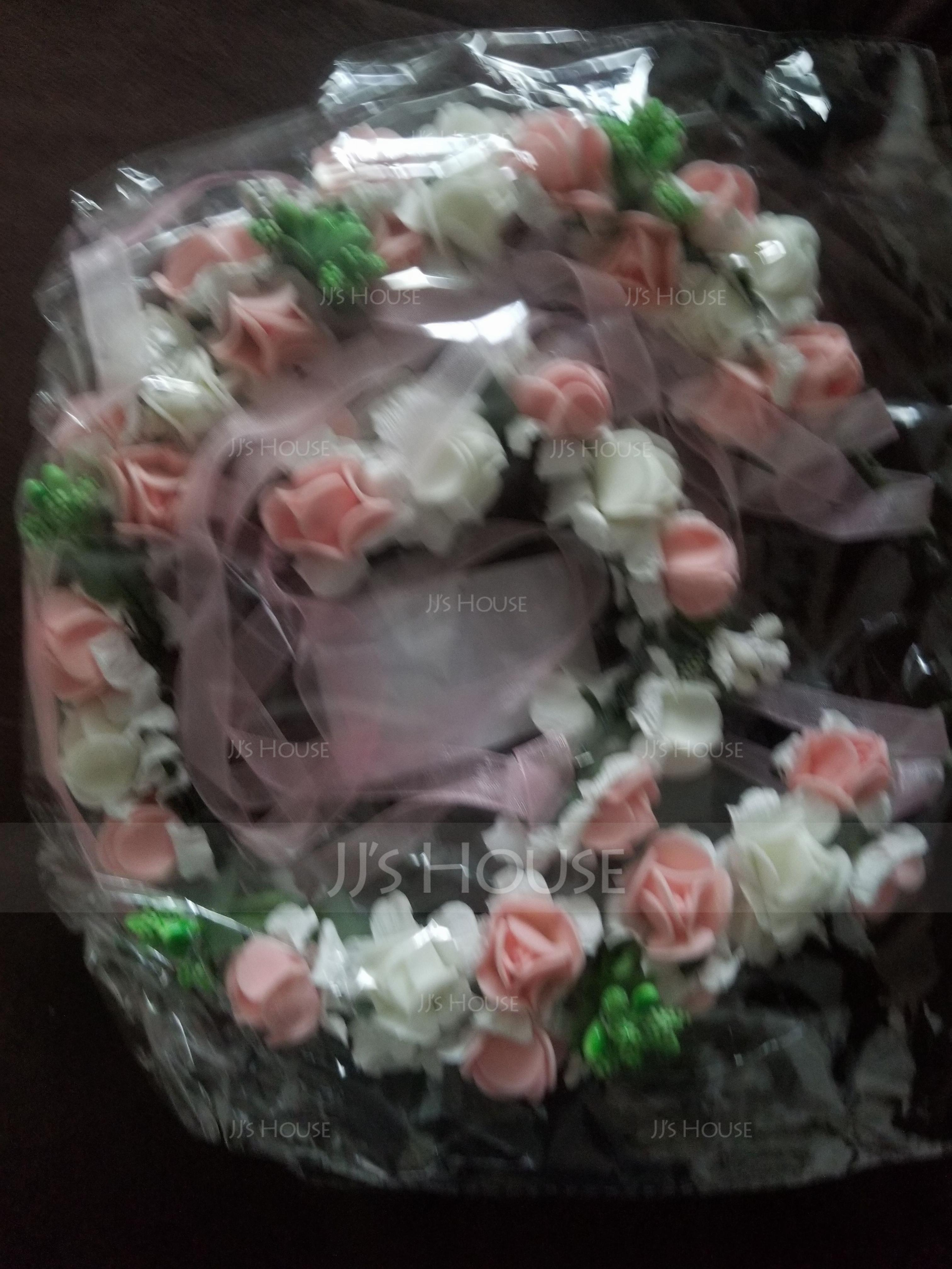 Foam With Ribbon Flower Headband ( Including Wrist Corsage) (198117019)