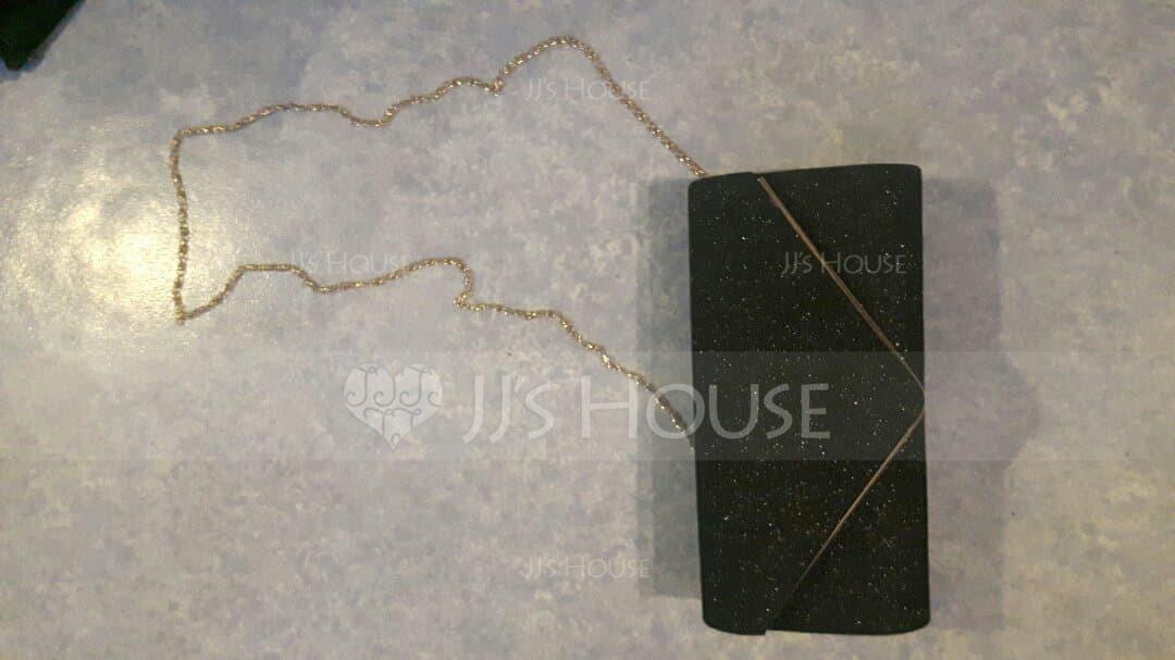 Elegant Sparkling Glitter Clutches/Wristlets/Bridal Purse/Evening Bags (012139096)